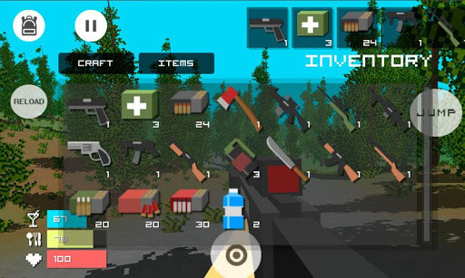 Guncraft - Zombie Apocalypse APK screenshot 1