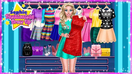 👗 Sophie Fashionista - Dress Up Game APK screenshot 1
