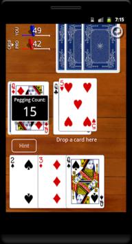 Cribbage Classic APK screenshot 1