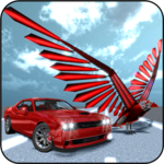 Muscle Car Robot Transformation Game - Eagle Hunt icon