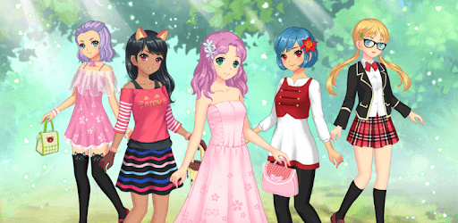 Anime Dress Up - Games For Girls pc screenshot