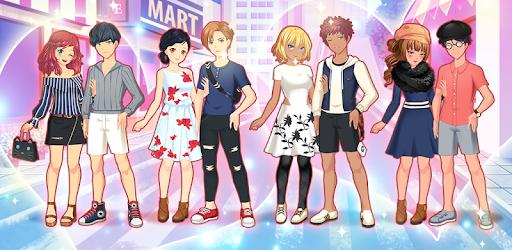 Anime Couples Dress Up Game pc screenshot