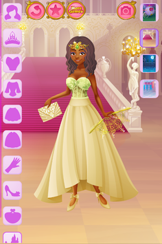 Cinderella Dress Up APK screenshot 1