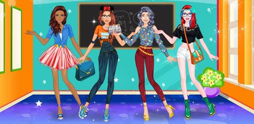 High School Dress Up For Girls pc screenshot