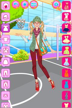 High School Dress Up For Girls APK screenshot 1
