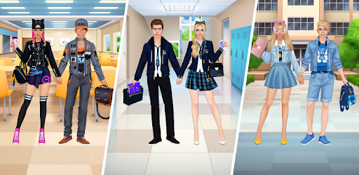 High School Couple: Girl & Boy Makeover pc screenshot