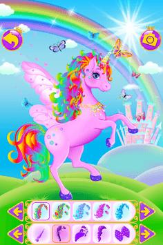 Unicorn Dress Up - Girls Games APK screenshot 1