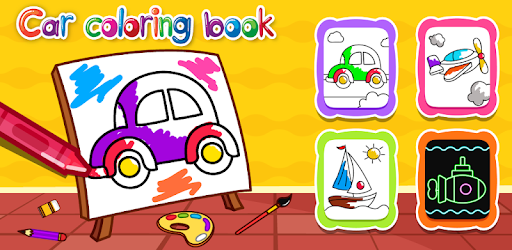 Cars Coloring Book for Kids - Doodle, Paint & Draw pc screenshot