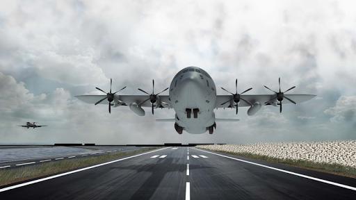 Airplane Real Flight Simulator 2017: Pro Pilot 3D APK screenshot 1