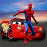 Superheroes Car Simulator Stunt Racing Games icon