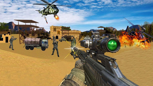 Sniper Desert Action apk screenshot 1