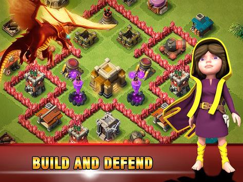 Era of War:Clash of epic Clans APK screenshot 1