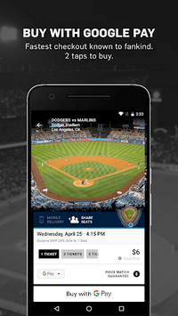 Gametime - Tickets to Sports, Concerts, Theater APK screenshot 1