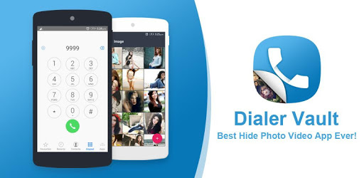 Dialer vault I Hide Photo Video App OS 11 phone 8 pc screenshot