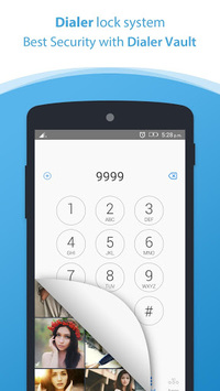 Dialer vault I Hide Photo Video App OS 11 phone 8 APK screenshot 1