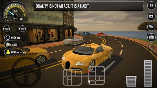 New York City Taxi Driver 3D: Taxi Sim 18 APK screenshot 1