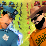 Police Battle Simulator: Epic Battle icon