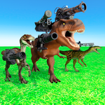 Beast Animals Kingdom Battle: Dinosaur Games icon