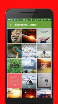 Inspiring Quotes and Thoughts APK screenshot 1