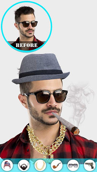 Gangster Photo Editor APK screenshot 1