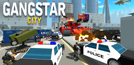 Grand Gangster City: Pixel 3D Gun Crime Game pc screenshot