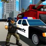 Grand Gangster City: Pixel 3D Gun Crime Game icon