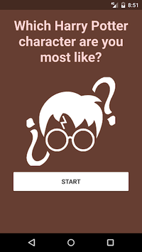 Who are you in Harry Potter? APK screenshot 1