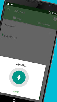 Voice notes - quick recording of ideas APK screenshot 1