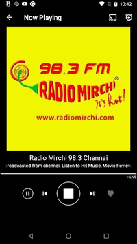 Tamil FM Radio HD Live - Podcast, Tamil Live News APK screenshot 1