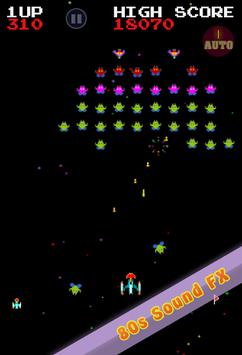Galaxia Classic - 80s Arcade Space Shooter APK screenshot 1