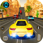 Racing in Highway Car 2018: City Traffic Top Racer icon