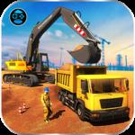 City Heavy Excavator: Construction Crane Pro 2018 icon