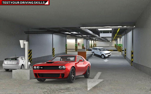 Prado luxury Car Parking Games APK screenshot 1