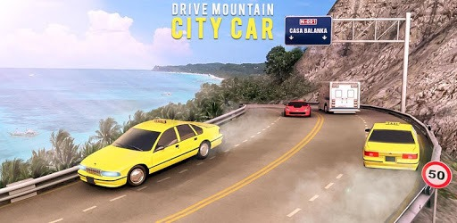 Drive Mountain City Taxi Car: Hill Taxi Car Games pc screenshot