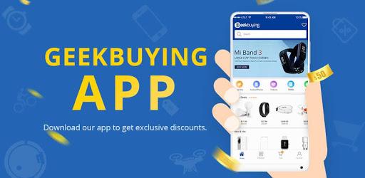 GeekBuying - Gadget shopping made easy pc screenshot