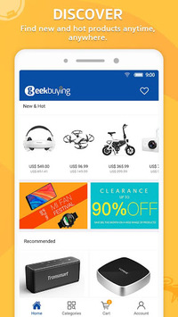 GeekBuying - Gadget shopping made easy APK screenshot 1