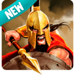 Gladiator Heroes Clash: Fighting and strategy game icon