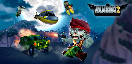 Ramboat 2 - The metal soldier shooting game pc screenshot
