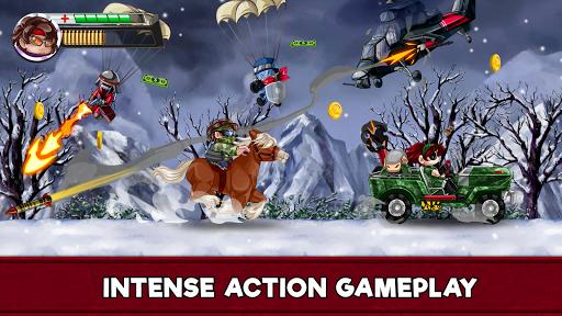 Ramboat 2 - The metal soldier shooting game APK screenshot 1