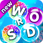 Bubble Word Games! Search & Connect Word & Letters icon