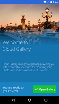 Cloud Gallery APK screenshot 1