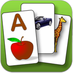 Kids  flashcard game icon