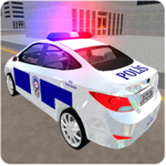 Real Police Car Driving Simulator 3D icon