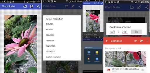 Resize photo pc screenshot