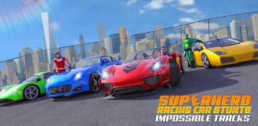 Superhero Car Games GT Racing Stunts - Game 2021 pc screenshot