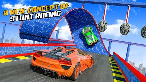Superhero Car Games GT Racing Stunts - Game 2021 APK screenshot 1