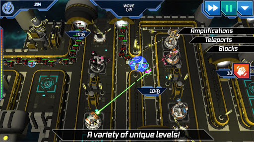 Sci Fi Tower Defense. Module TD APK screenshot 1