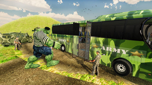 Incredible Monster Russian Army Prisoner Transport APK screenshot 1