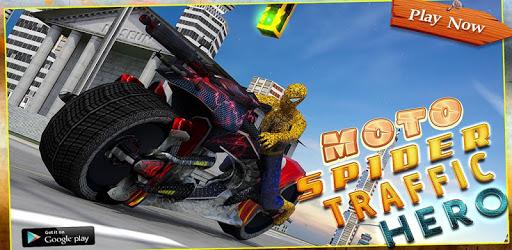 Moto Spider Traffic Hero: Motor Bike Racing Games pc screenshot