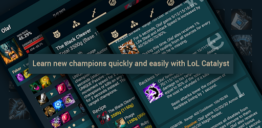 Builds for LoL pc screenshot